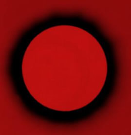 red circle eclipse